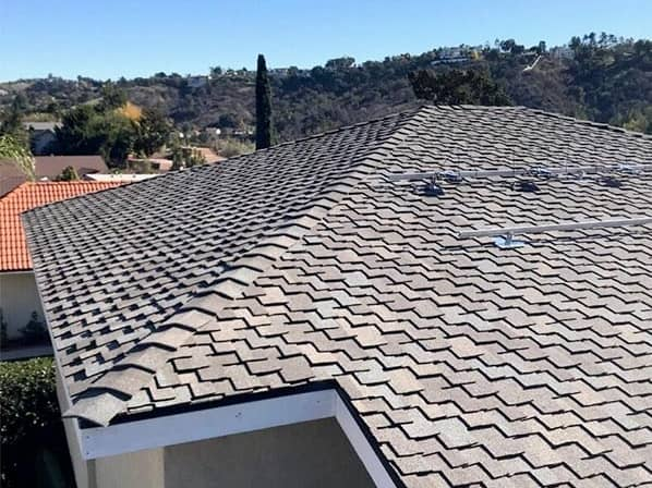 Shingle roof repair and installation